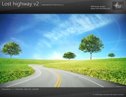 Lost highway v2 wallpaper by darpan-aero