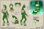 :Galok Reference Sheet 2018: [QUICK] by Helen-M123