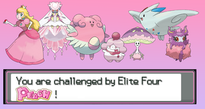 [POKEMON] You are challenged by E4 Peach! v.2