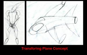 Transforming Plane Concept by DeverexDrawer