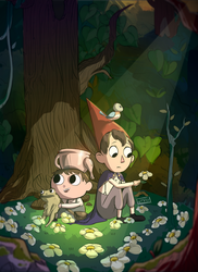 Over the Garden Wall: Flowerbed by n33rrx