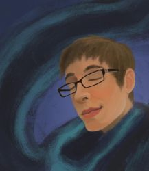Self Portrait Digital by Coffeeandspiders