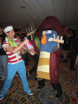 DC09: Flapjack n K'nuckles by SpainFischer