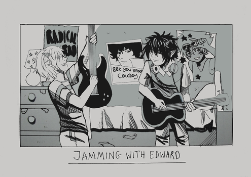 Episode 9 - Jamming with Edward by Inui-Purrl