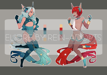 [CS: ELIORE] Water and Fire [CLOSED] by rein-adopts