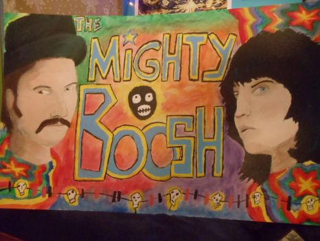 The Mighty Boosh Painting by talwyn8303