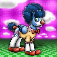 Mix-up Discorded Clown2  by amalgamzaku