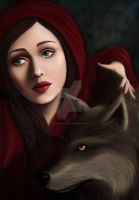Red Riding Hood by CarmaBellaP