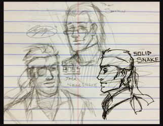 MGS Doodles by ReaperClamp
