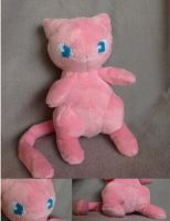 Mew Plush by Plush-Lore