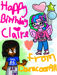 Happy Birthday Claire! by Daracoon911