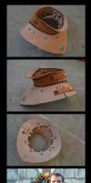 Leather Gorget by Crafty-Jack