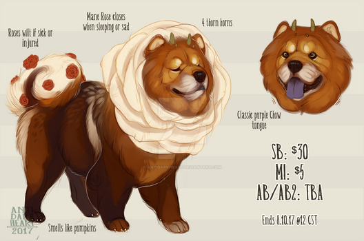 Rose Chow Adopt Auction - CLOSED by Anti-Dark-Heart
