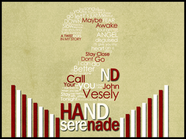Secondhand Serenade Typo by RenzGFX