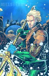 Aquaman: Finished with Colors! by IronWarrior777
