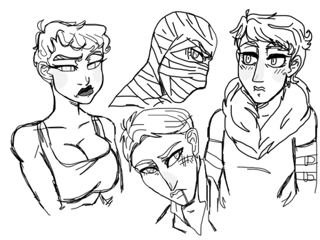 Uhh fallout Sketches by AnonymousTrollF4c3