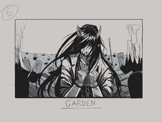 Day 6 - Garden by Inui-Purrl