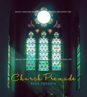 Church Premade - Blue version by Wesley-Souza