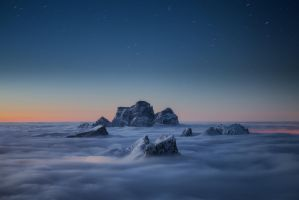 Sea of clouds by dfm63