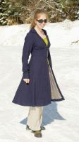 Dress Coat - in motion by Goldenspring