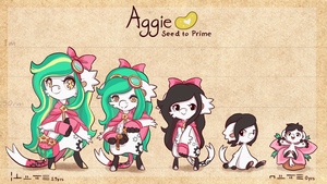 Aggie - Seed to Prime by Ne-chi