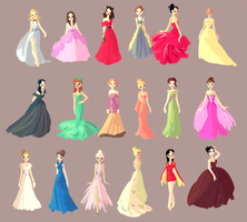 Dresses by snarkies