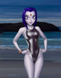 Raven Swimsuit by DrewGardner