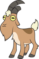 Gravity Falls Goat by MF99K