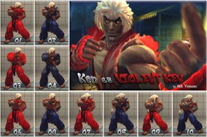USF4 Ken as Violent Ken MOD ver 1.0 by 6thVenom