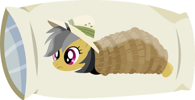 Tied up Daring Do Bodypillow by TimeLordOmega