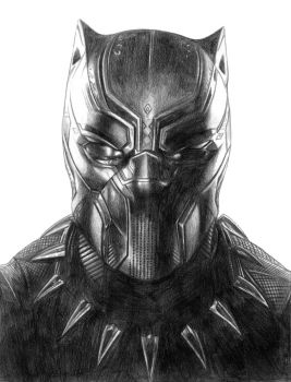 T'Challa (Black Panther) by SoulStryder210
