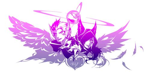 League of Legends - The lovebirds by Paddy-F