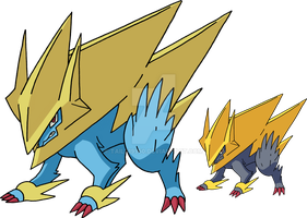 310 - Mega Manectric by Tails19950