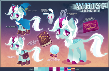 Whisp the Kirin by zombie