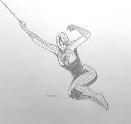 Spider-girl (May Parker) - pencils by arunion