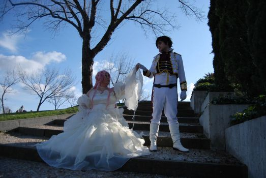 Code Geass:Euphemia and Suzaku by BlazeHikari