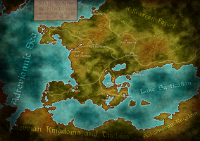 Lands of the Duchy of Altherria by GTD-Orion