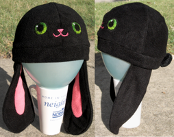 Bunny Hat by clearkid