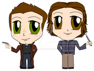 Winchester Chibi by SybilThorn