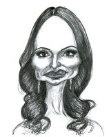 Madeleine Stowe in Revenge by Caricature80