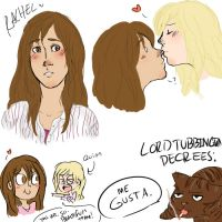 Faberry doodles by dashyice