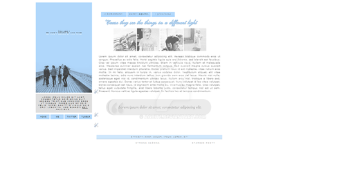 blogger layout - you and i by aquite