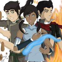 The Legend of Korra by FlyingPings