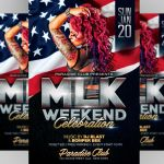 MLK Day Weekend Flyer by ayumadesign
