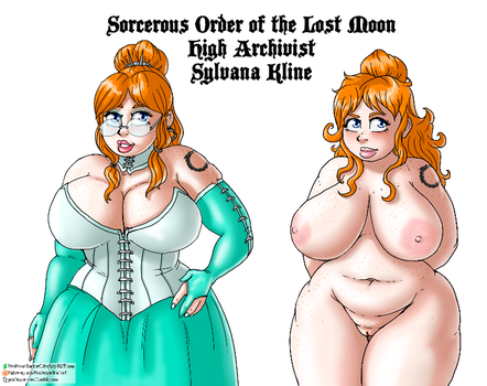 Red Haired Sorceress by ProfessorDoctorC