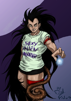 Raditz by DarkFalcon-Z