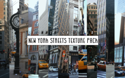 New York Streets Texture Pack. by Renixt12