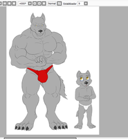 Commission wip by husky50