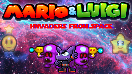 Mario and Luigi: Invaders from Space (Part 2) by SuperShadeMario