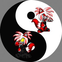 Chaos Dez Yin And Yang by BluethornWolf